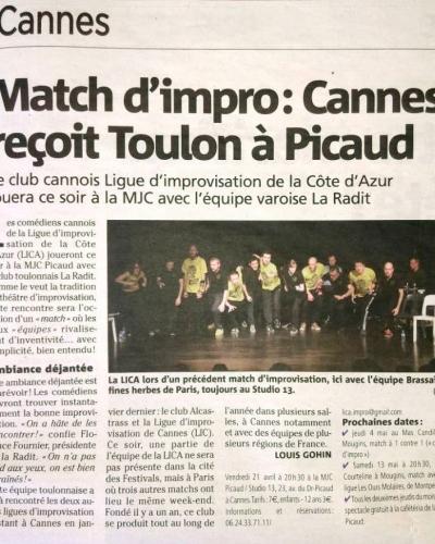 Match LICA - RADIT 20/04/17