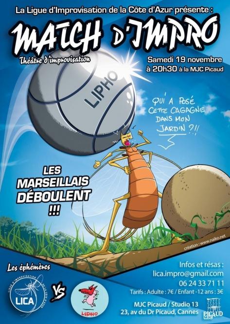 LICA vs LIPHO (Marseille)