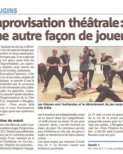Stage Jérémy Fouix 17/03/17